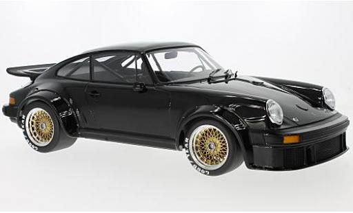 Porsche 934 1/12 Minichamps black 1976 diecast model cars