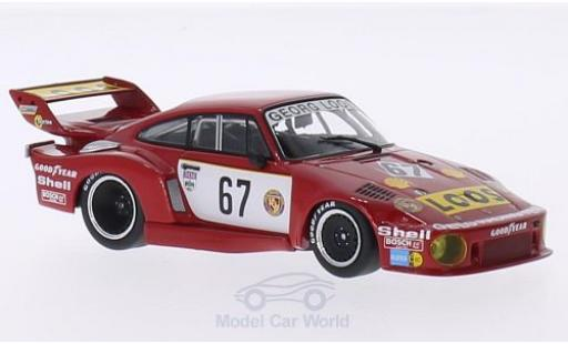 Porsche 935 1977 1/43 Minichamps /77 No.67 Gelo Racing Team Loos DRM Nürburgring R.Stommelen diecast model cars