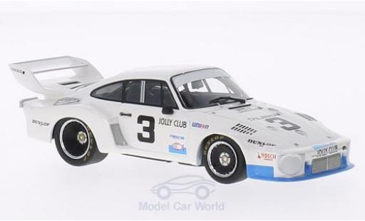 Porsche 935 1977 1/43 Minichamps No.3 Jolly Club 24h Daytona 1977 C.Facetti/M.Finotto/R.Camathias miniature