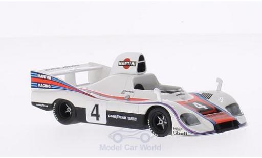 Porsche 936 1/43 Minichamps /76 No.4 Martini Martini Coppa Florio Pergusa 1976 J.Mass/R.Stommelen miniature