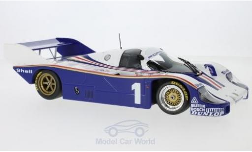 Porsche 956 1982 1/18 Minichamps K No.1 System Racing 6h Silverstone mit Decals J.Ickx/D.Bell diecast model cars