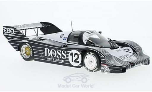 Porsche 956 1983 1/18 Minichamps K No.12 Kremer Racing Boss 200 Meilen von Nürnberg 1983 K.Rosberg miniature