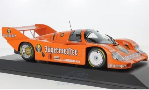 Porsche 956 1984 1/18 Minichamps K No.1 Brun Jägermeister 200 Meilen Norisring S.Bellof miniature