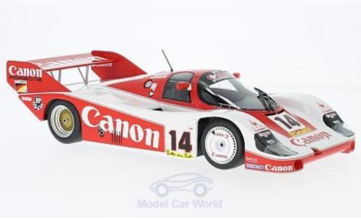 Porsche 956 1983 1/18 Minichamps K No.14 Canon Racing 1000 Km Nürburgring K.Rosberg/J.Lammers/J.Palmer miniature