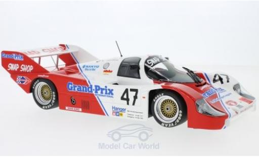 Porsche 956 1983 1/18 Minichamps K No.47 Preston Henn T-Bird Swap Shop 1000 Km Brands Hatch D.Galica/Sutherland/P.Henn miniature