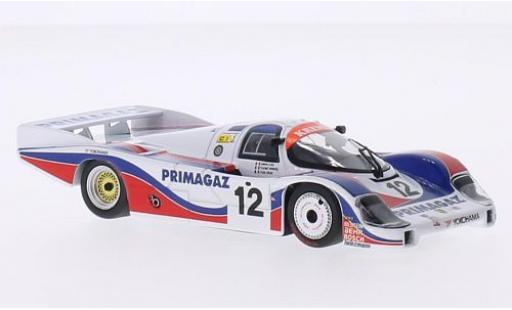 Porsche 956 1986 1/43 Minichamps L No.12 Kremer Racing Primagaz 24h Le Mans P.Yver/M.Cohen-Olivar/H.Striebig miniature