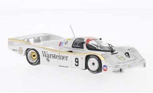 Porsche 956 1/43 Minichamps L No.9 Brun Racing Warsteiner 24h Le Mans 1984 W.Brun/L.von Baviera/B.Akin miniature