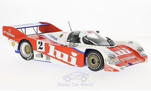 Porsche 962 1987 1/18 Minichamps C No.2 Brun Motorsport Lui 1000 Km Nürburgring 1987 J.Mass/O.Larrauri/J.Pareja miniature