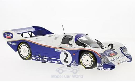Porsche 962 1985 1/18 Minichamps C No.2 AG 1000 Km Hockenheim 1985 H-J.Stuck/D.Bell miniature