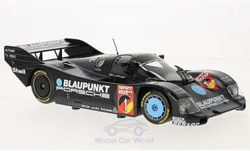 Porsche 962 1986 1/18 Minichamps C No.1 Blaupunkt Supercup Eifelrennen Nürburgring 1986 H-J.Stuck diecast