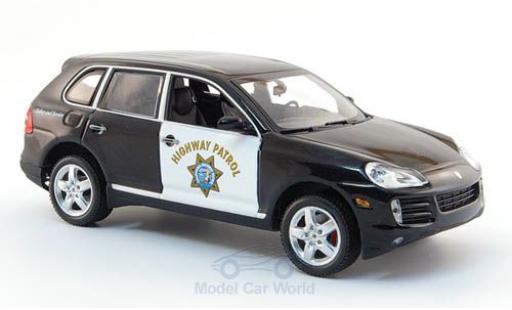 Porsche Cayenne S 1/43 Minichamps Highway Patrol 2007 Polizei miniature