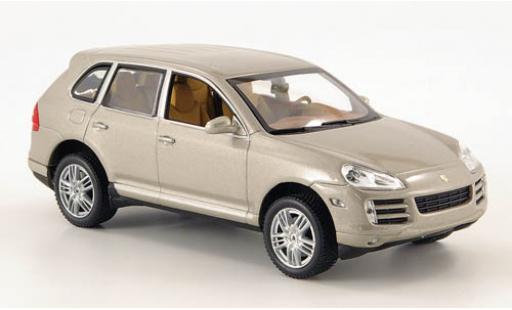 Porsche Cayenne S 1/43 Minichamps metallise beige 2006 diecast model cars