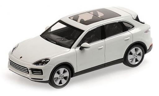 Porsche Cayenne 1/43 Minichamps blanche 2017 miniature