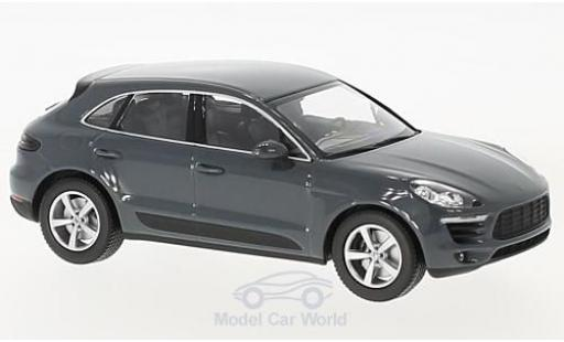 Porsche Macan 1/43 Minichamps grey 2013 diecast model cars