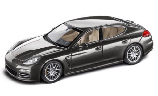 Porsche Panamera 4S 1/43 Minichamps metallise grey 2016 diecast model cars