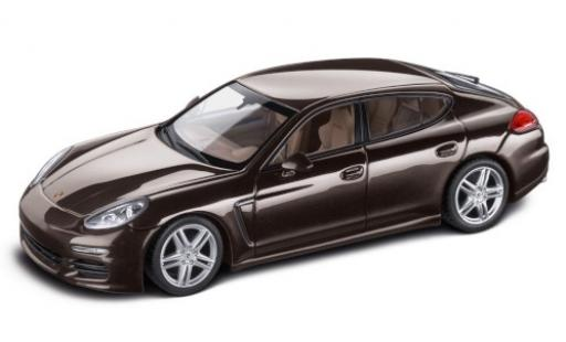 Porsche Panamera 1/43 Minichamps metallise black 2016 diecast model cars