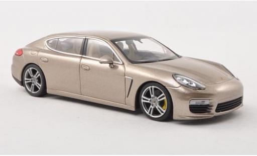 Porsche Panamera Turbo S 1/43 Minichamps Executive metallise beige 2016 miniature