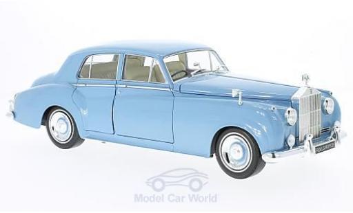 Rolls Royce Silver Cloud 1/18 Minichamps II bleue RHD 1960 miniature