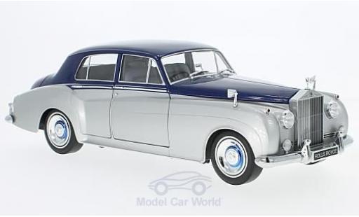 Rolls Royce Silver Cloud 1/18 Minichamps II grise/bleue RHD 1960 miniature