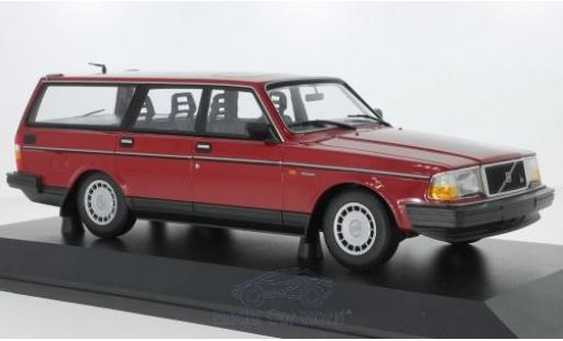 Volvo 240 1/18 Minichamps GL Break rouge 1986 miniature