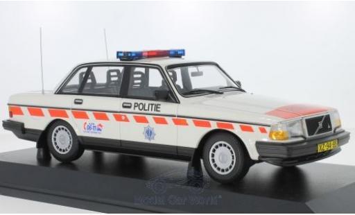 Volvo 240 1/18 Minichamps GL Politie (NL) 1986 miniature
