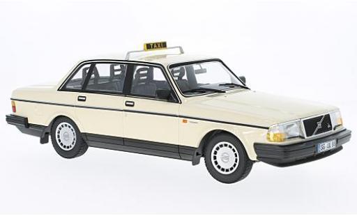 Volvo 240 1/18 Minichamps GL Taxi (D) 1986 modellino in miniatura