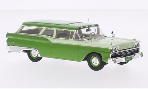 Ford Ranch Wagon 1/43 Motorhead verte/verte 1959 miniature