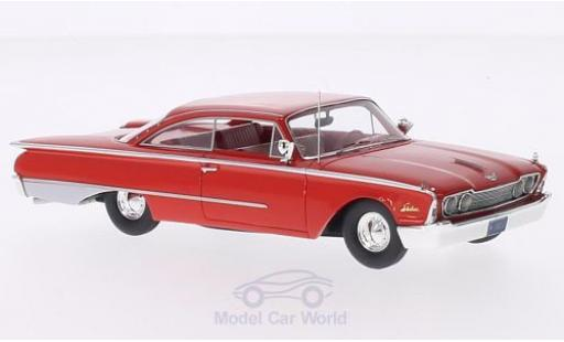 Ford Starliner Galaxie 1/43 Motorhead rouge 1960 miniature