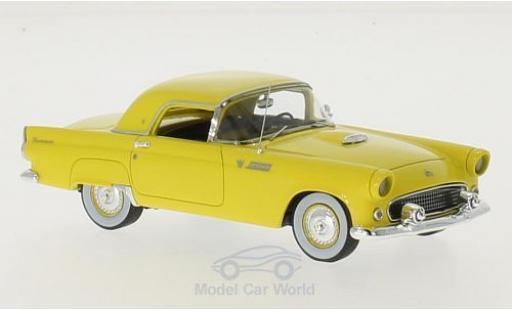 Ford Thunderbird 1955 1/43 Motorhead Hardtop jaune miniature