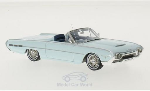Ford Thunderbird 1962 1/43 Motorhead Sports Roadster bleue miniature