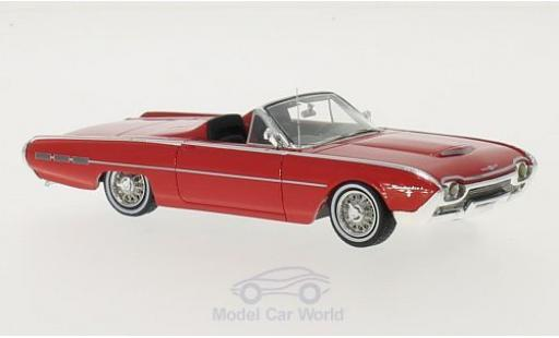Ford Thunderbird 1962 1/43 Motorhead Sports Roadster rouge miniature