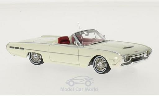 Ford Thunderbird 1962 1/43 Motorhead Sports Roadster blanche 1962 miniature