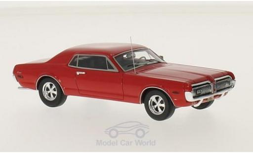 Mercury Cougar 1/43 Motorhead rouge 1968 miniature
