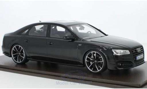 Audi S8 1/18 Motorhelix Plus métallisé noire 2017 miniature