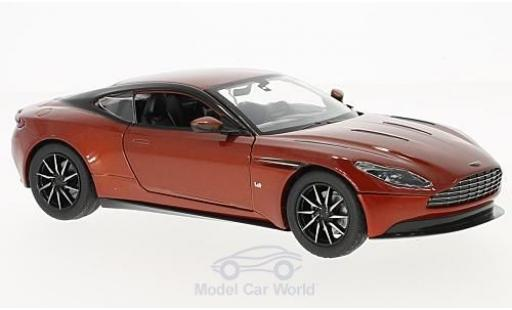 Aston Martin DB1 1/24 Motormax 1 metallise orange miniature