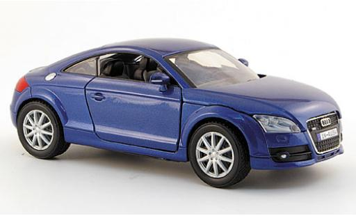 Audi TT 1/24 Motormax Coupe metallise blue 2006 diecast model cars