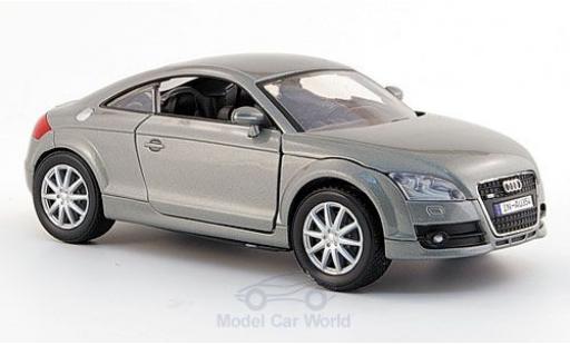 Audi TT 1/24 Motormax Coupe grise 2006 ohne Vitrine miniature