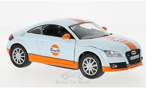 Audi TT 1/24 Motormax Gulf miniature