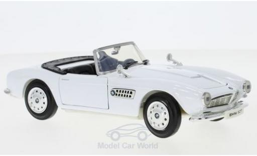 Bmw 507 1/24 Motormax white diecast model cars