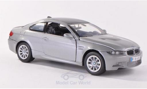 Bmw M3 1/24 Motormax (E92M) metallise grey/carbon diecast model cars