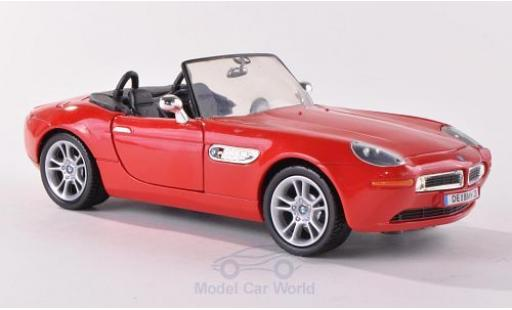 Bmw Z8 1/24 Motormax red ohne Vitrine diecast model cars