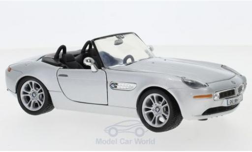 Bmw Z8 1/24 Motormax grey ohne Vitrine diecast model cars