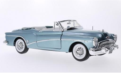 Buick Skylark 1/18 Motormax Convertible metallise bleue 1953 miniature