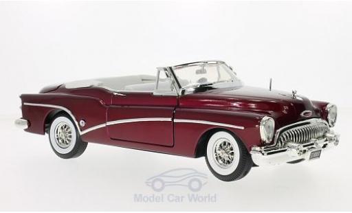 Buick Skylark 1/18 Motormax metallise rouge 1953 miniature