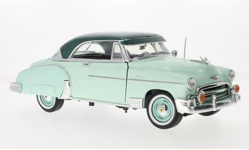 Chevrolet Bel Air 1/18 Motormax verte/metallise verte 1950 miniature