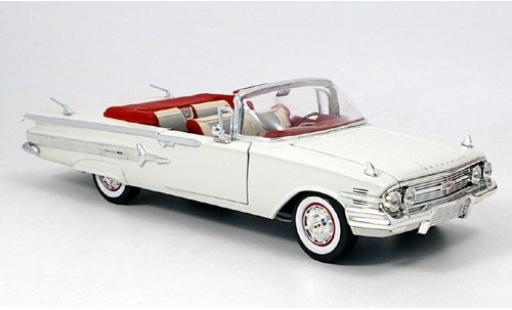 Chevrolet Impala 1/18 Motormax bianco 1960 modellino in miniatura