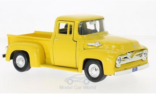 Ford F-1 1/24 Motormax 00 Pick Up jaune 1955 miniature