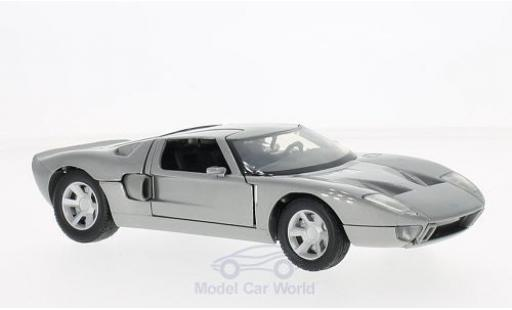 Ford GT 1/24 Motormax Concept metallise grise ohne Vitrine miniature
