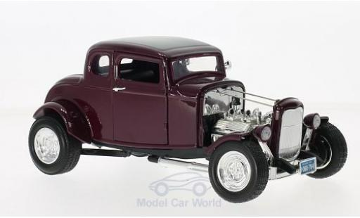 Ford Hot Rod 1/18 Motormax metallise lila 1932 miniature