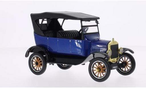 Ford Model T 1/24 Motormax Touring metallise bleue 1925 miniature